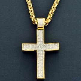 Big Size Diamond Cross
