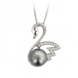 Custom jewelry fashcino jewelry llc mounting for swan pearl pendant mounting for swan pearl pendant aloadofball Image collections