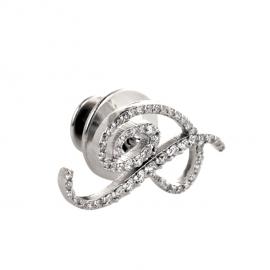 """P"" Diamond Accessory Pin"