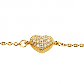 Heart Diamond Bracelet RG