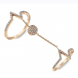 """""""Connected To Life"""" Diamond Ring RG"""