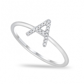 """A"" Diamond Ring WG"